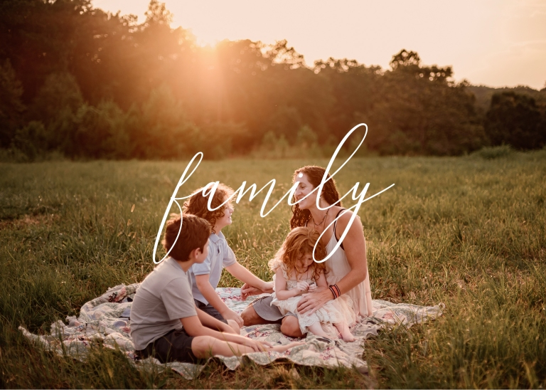 Family Photography Title Page