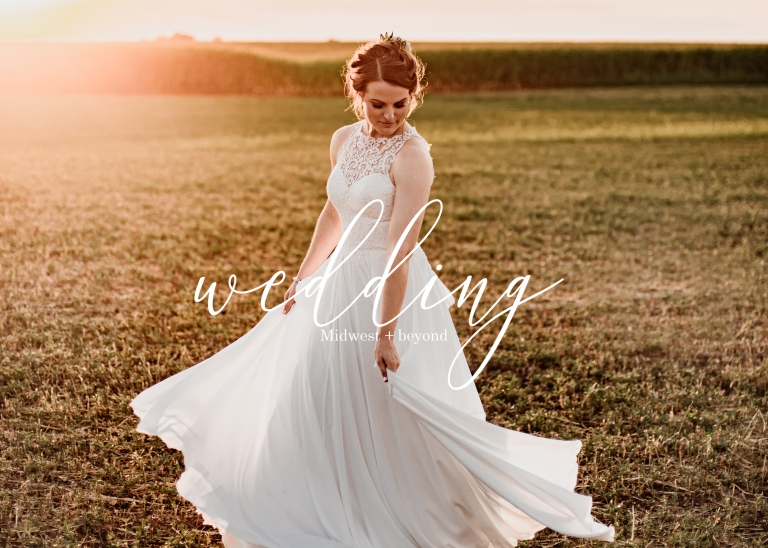 Midwest Wedding Photography Title Page