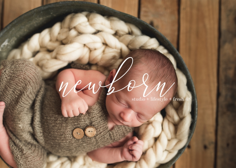 Newborn Photography Title Page